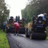 Création de revêtement routier en enrobé