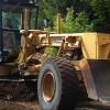 Création de chemins forestiers