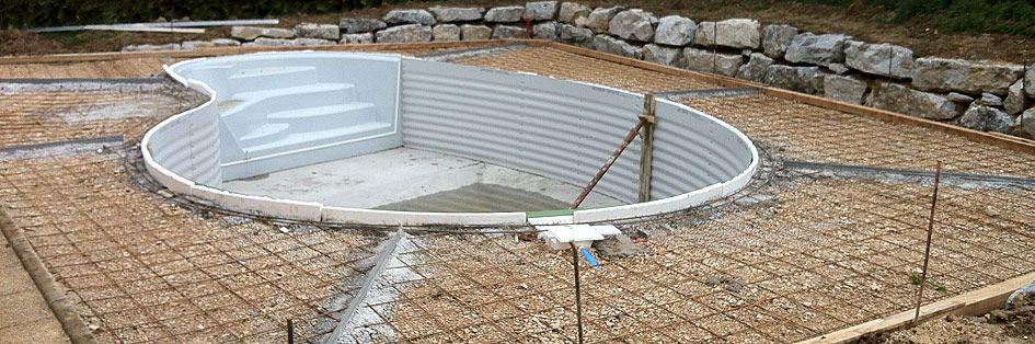 Création de piscines